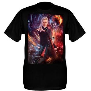 Black Peter Capaldi T-Shirt